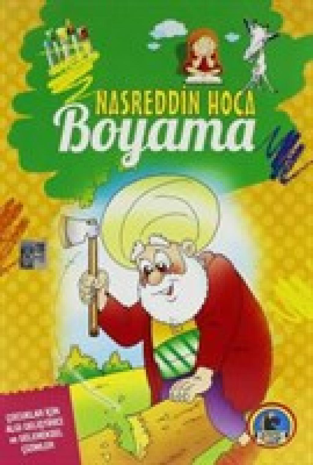 Nasreddin Hoca Boyama 10 Lu Seri Karatay Nasreddin Hoca Boyama 10 Lu